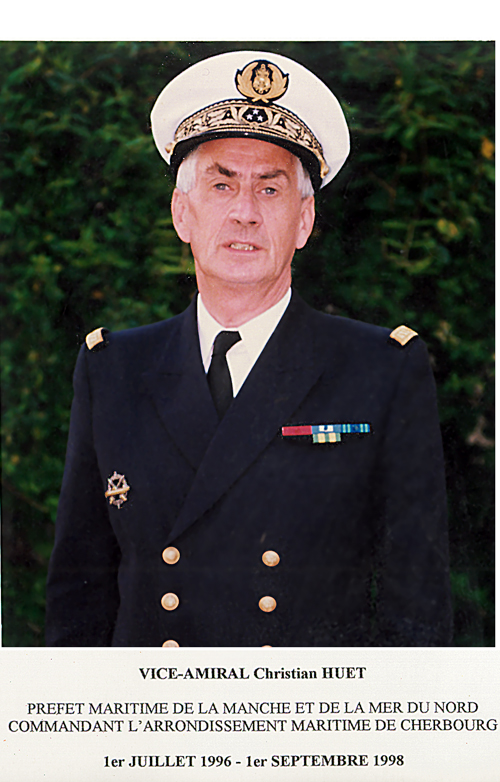 Vice-amiral Christian Huet 1996-1998 (photo : marine nationale)