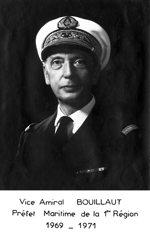 Vice-amiral Bouillaut 1969-1971 (photo : marine nationale)