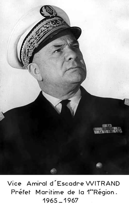 Vice-amiral d'escadre Witrand 1965-1967 (photo : marine nationale)