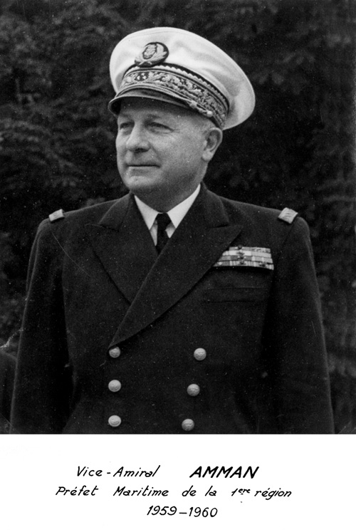 Vice-amiral Amman 1959-1960 (photo : marine nationale)