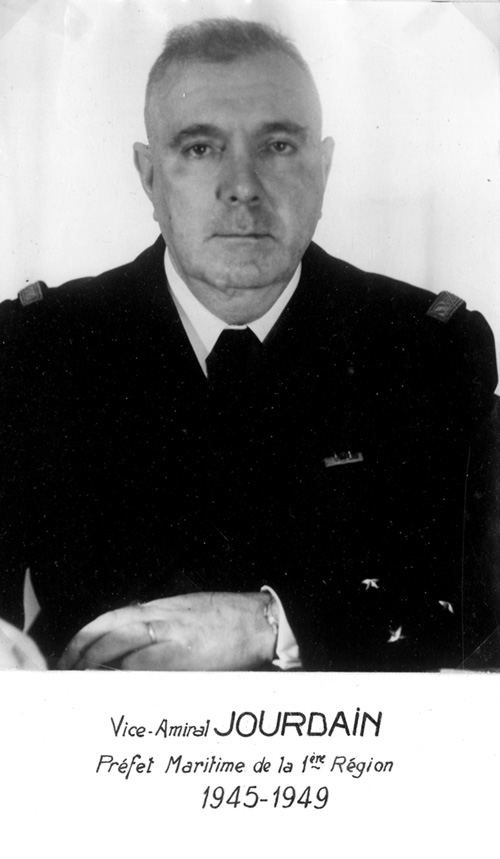 Vice-amiral Jourdain 1945-1949 (photo : marine nationale)