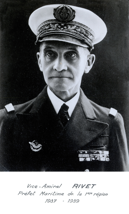 Vice-amiral Rivet 1937-1939 (photo : marine nationale)