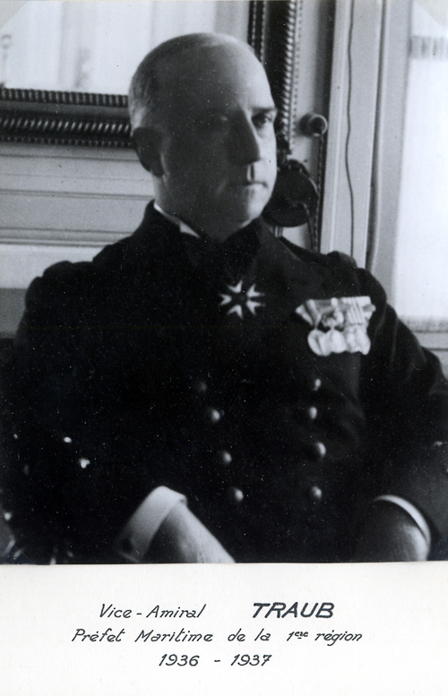 Vice-amiral Traub 1936-1937 (photo : marine nationale)