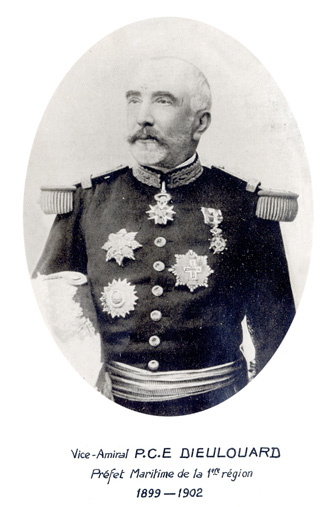 Vice-amiral P.C.E. Dieulouard 1899-1902 (photo : marine nationale)